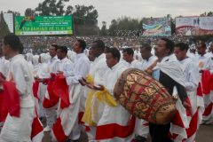 Meskel Parade in Addis