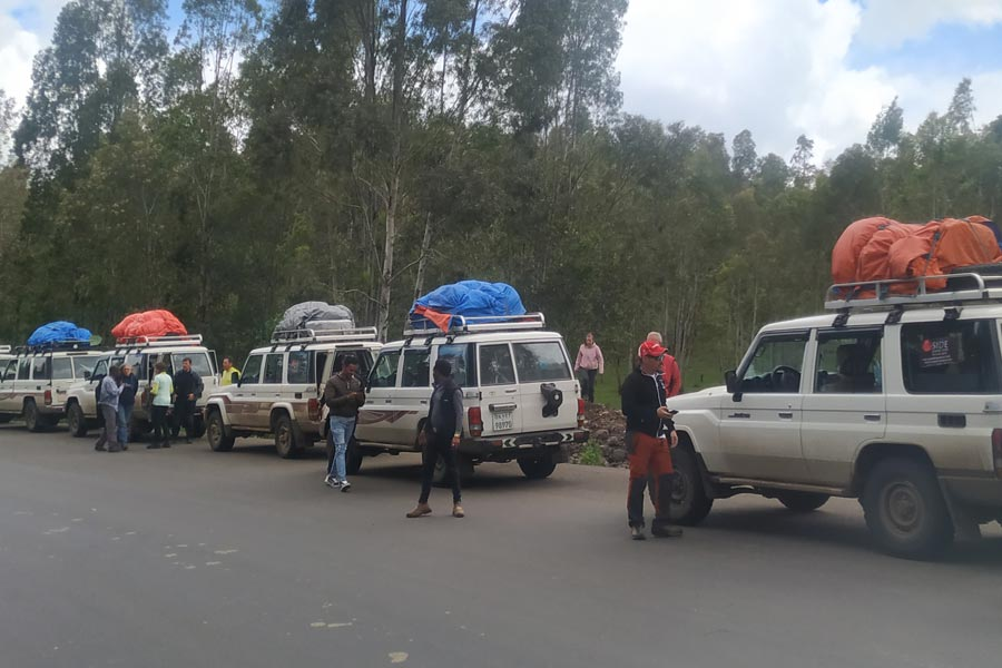 CARS IN SIMIEN