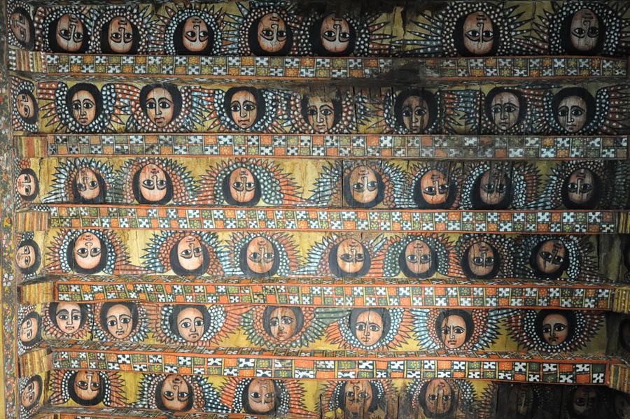 ANGELS IN DEBRE BIRHAN CHURCH