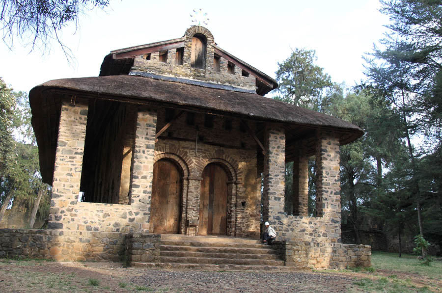 DEBRE BIRHAN CHURCH IN GONDAR