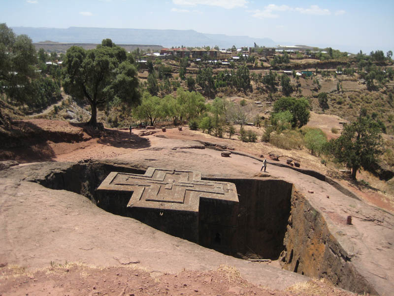 ST GEORGE IN LALIBELA