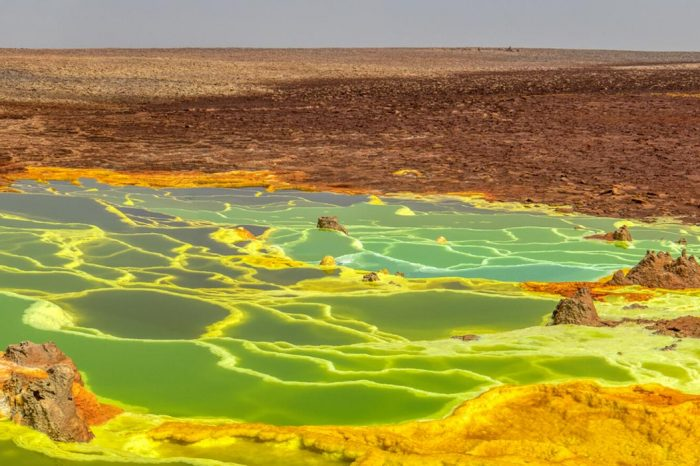 Danakil Depression – Dallol (by flight)