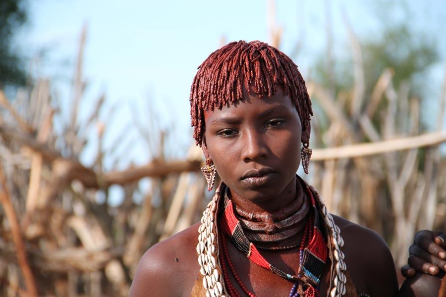 ETHIOPIA HAMER GIRL