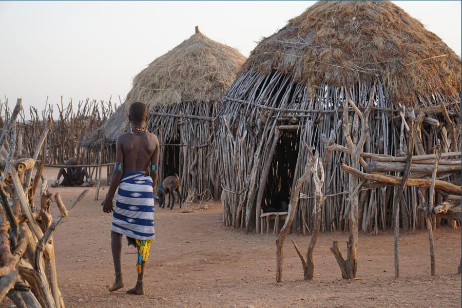 Jinka and the Omo Valley tribes