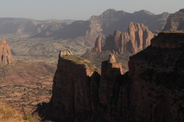Tigray rock-hewn churches (by flight)