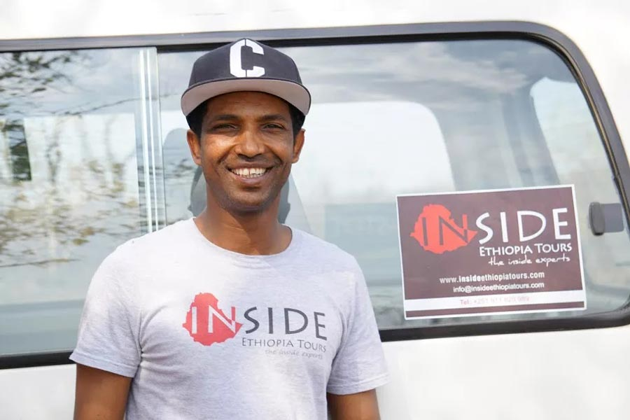 A picture of Binyam, the owner of Inside Ethiopia Tours , an Ethiopian Travel Agency