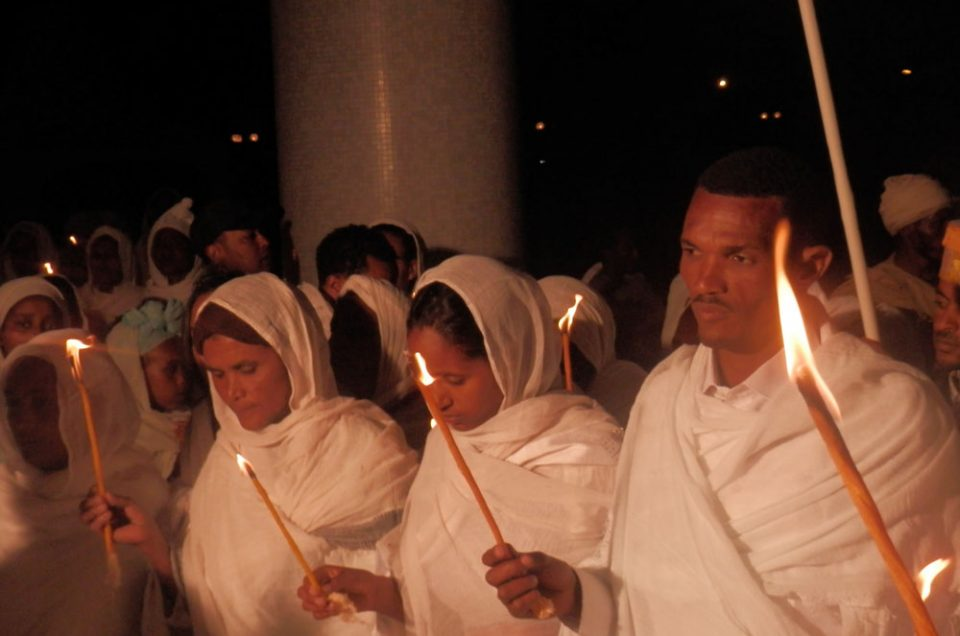 Ethiopian Easter celebration