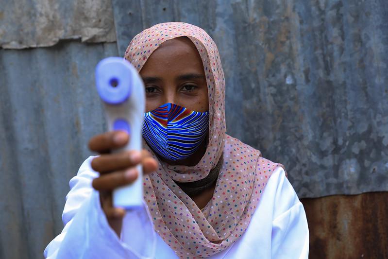 Temperature screening in Ethiopia