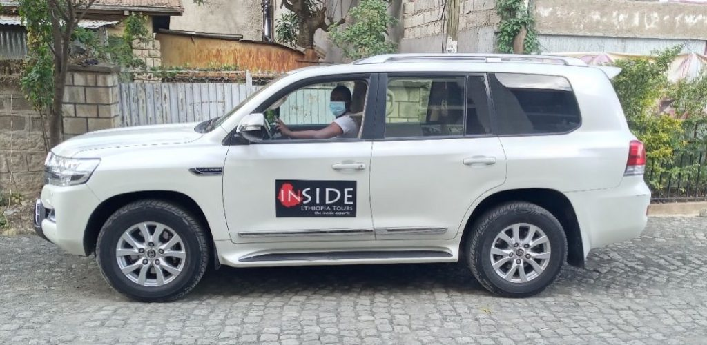Inside Ethiopia Tours driver